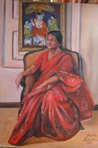 SRI Oil Portrait