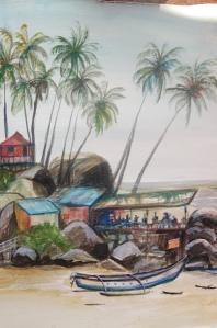 Palolem Beach Shore